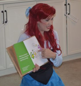 ariel, story time, mermaid,
